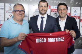 Osasuna y el teórico  entrenador Diego