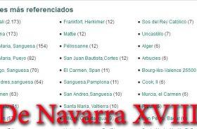 De Navarra XVIII- Los mil nombres.