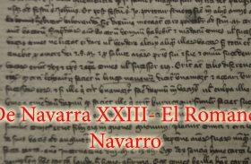 De Navarra XXIII-El Romance Navarro
