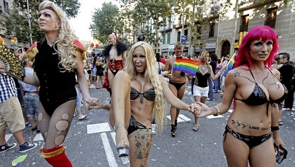 Gais, lesbianas y   … el resto del mundo