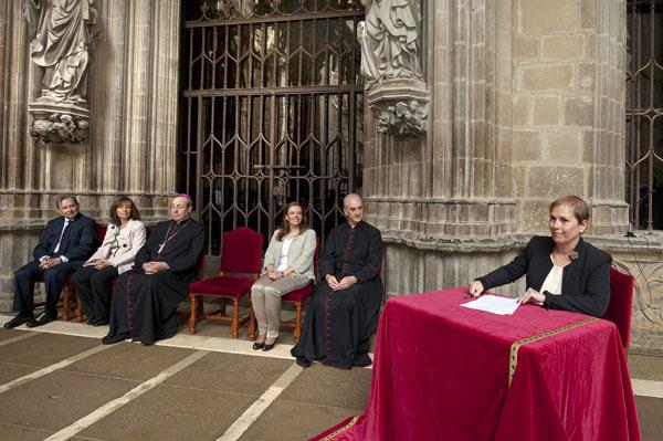 ¿Barkos, convertida en catequista de religión?