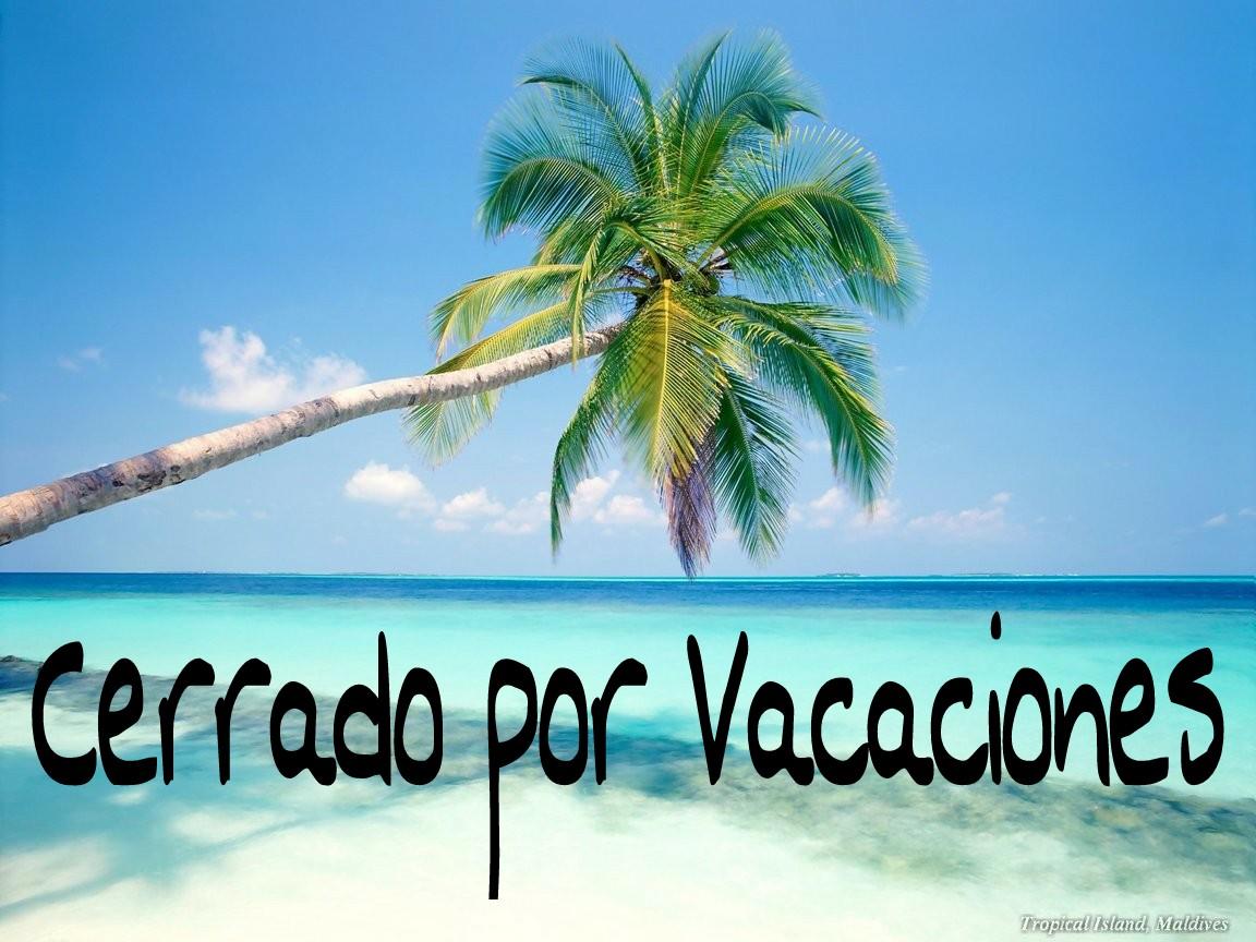 Vacaciones, sinónimo de  cambio de actividad